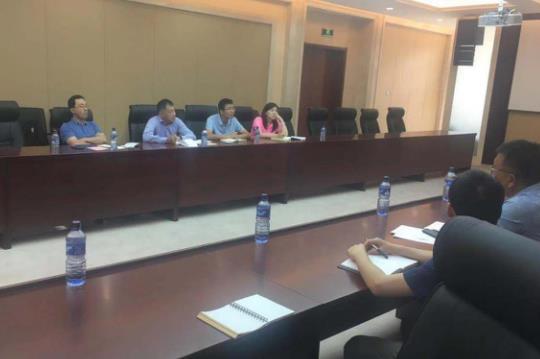商务部国际经济合作事务局党建和政治工作组视察我援布隆迪总统府二期项目