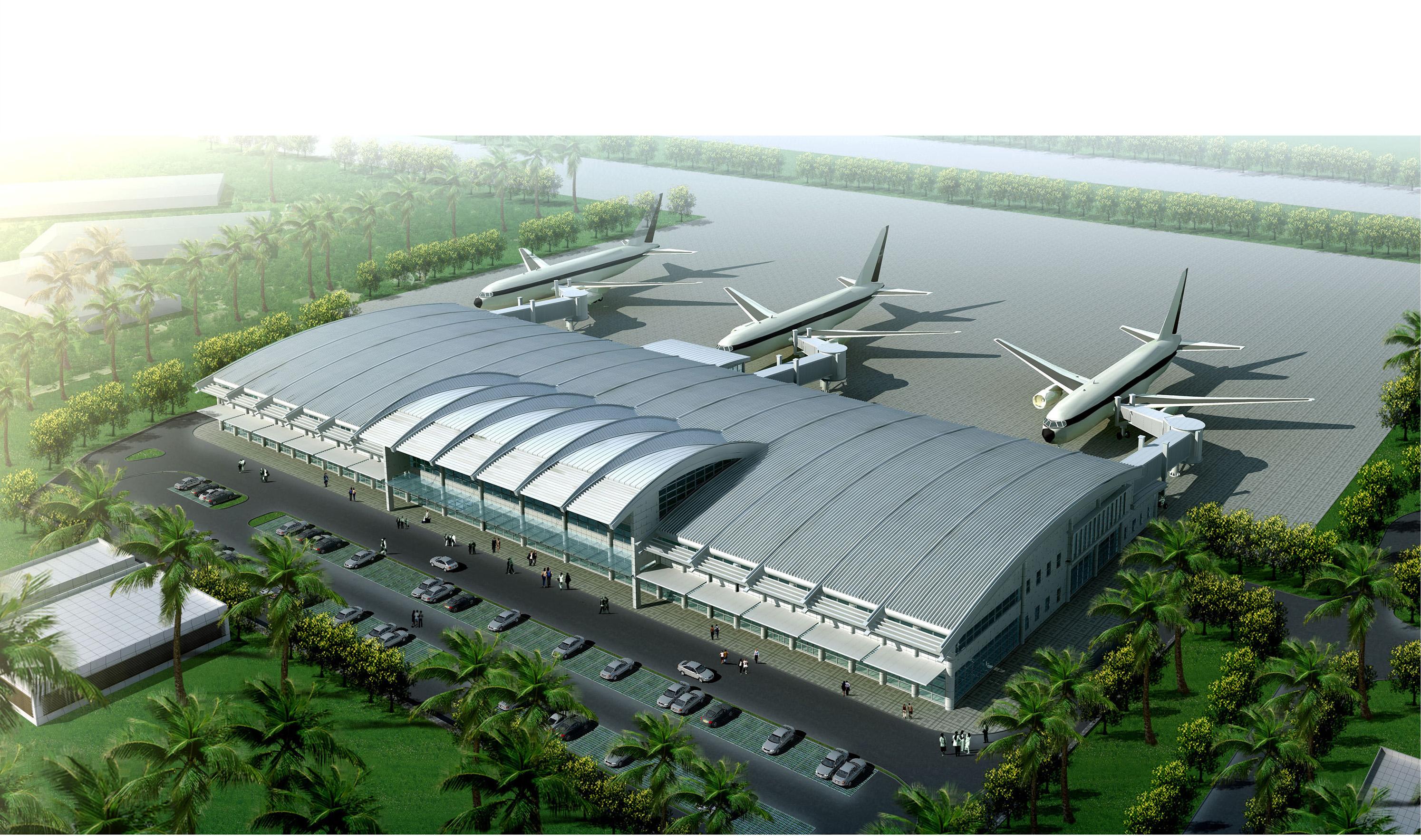 援安提瓜和巴布达机场航站楼亚搏下载EPC工程