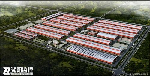 营口忠旺铝业铝型材挤压及加工亚搏下载2.1期工程亚搏下载