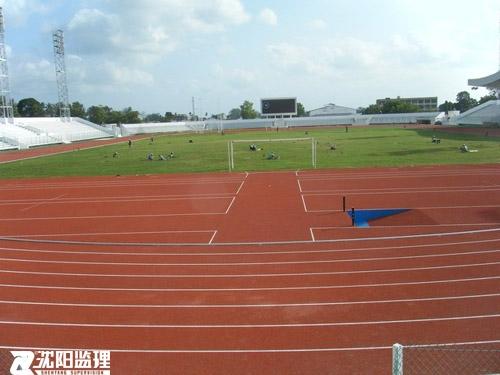 援桑给巴尔阿玛尼体育场维修